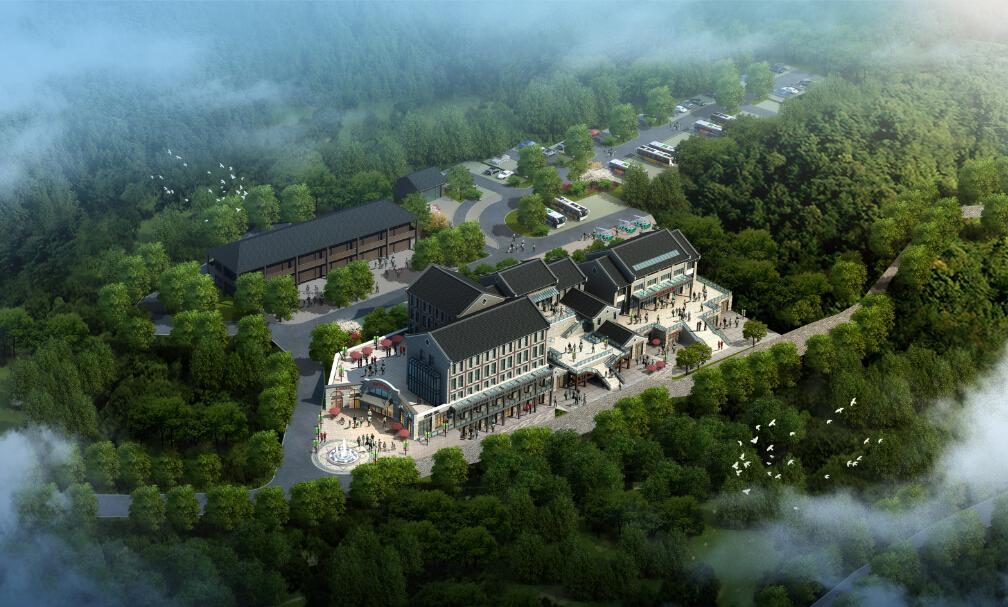 泥凼镇旅游集散中心设计说明
